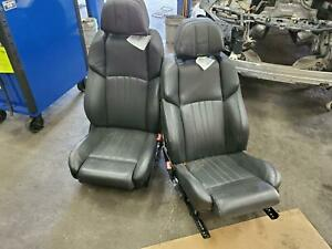 Bmw Bmw M5 2 Front Seats Bucket Leather Electric 20 Way Adjustable