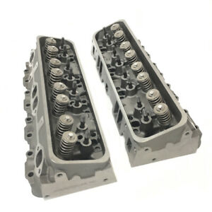 New Chevrolet Chevy Gm Gmc 5 7l 350 Vortec Cylinder Heads 906 062 Pair