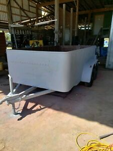 Flatbed Utility Equipment Trailer With Sides