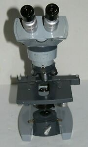 Ao Spencer Microscope 1036a W 4 Objectives 4 10 43 100 Free Shipping