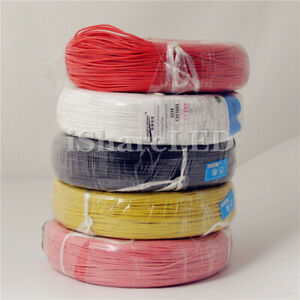 5 10m 16 32ft 8 10 12 14 16 18 Awg Silicone Flexible Wire Cable Up To 200 c Us