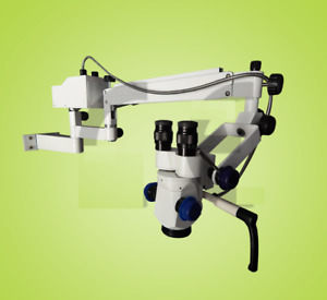 3 Step Led Ophthalmic Surgical Operating Portable Wall Mount Microscope