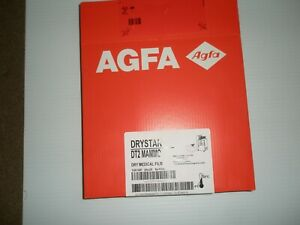 Agfa Drystar Dt2 Mammo 8x10 Dry Medical Film 5 Pks Of 100