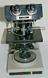 Bausch Lomb Balplan Microscope W 4 Objectives 4 10 40 100 Free Shipping