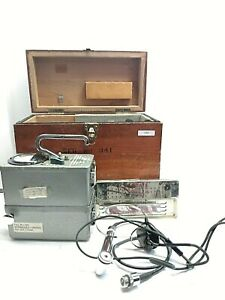 Eberline Model Pac 3 Gas Proportional Alpha Counter Geiger Counter In Box W acc