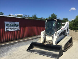 2015 Bobcat T870 Compact Track Skid Steer Loader A91 2spd High Flow 2100hrs