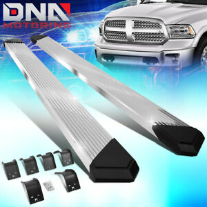 For 2009 2020 Dodge Ram Truck Crew Cab 6 25 Ss Pleated Step Bar Running Boards