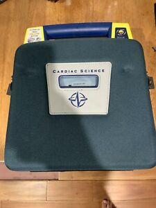 Cardiac Science Powerheart G3 Automatic Aed Pads And Battery Case