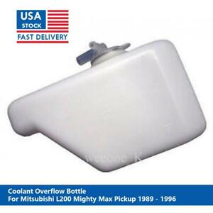 Coolant Overflow Bottle Tank For Mitsubishi L200 Mighty Max Pickup 1986 1996