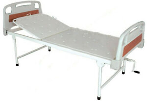 Medical Hospital Icu Semi Fowler Beds Heavy Duty Abs Panel Manual Bed