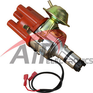 Electronic Ignition Distributor For 1955 1979 Porsche And Vw Bosch 009 W Vacuum