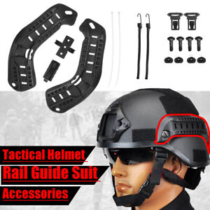 Tactical Helmet Guide Side Rail Helmet Accessory Mount for MICH 2000  ♪ new $19.88