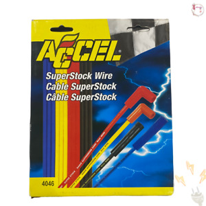 Accel 4046 8mm Super Stock Graphite Custom Wire Set Yellow