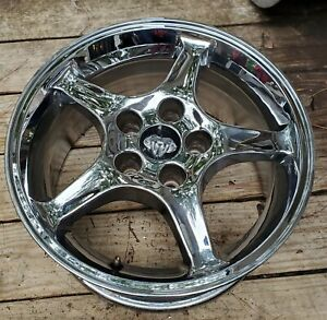 1992 2002 Ford Mustang Svt Cobra 5 Spoke 16 Inch Chrome Rim Wheel