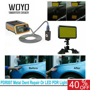 Woyo Pdr007 Auto Body Paintless Dent Repair Tool Optional With Led Pdr Light