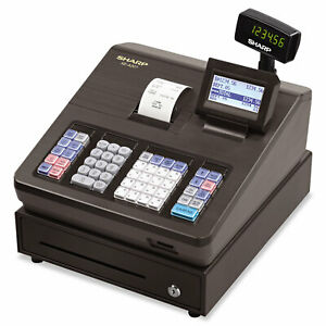 Xe Series Electronic Cash Register Thermal Printer 2500 Lookup 25 Clerks Lcd