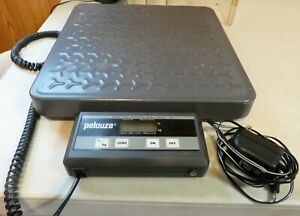 Pelouze 4040 Digital Shipping Scale 400lb Capacity as Is For Repair Or Parts