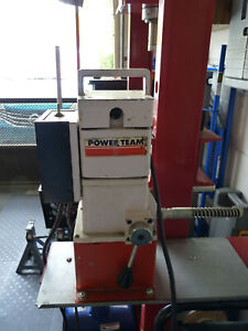Power Team And Big Red 20 Ton H Frame Hydraulic Press