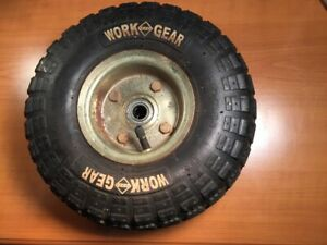 Hand Truck Wheel With 5 8 Ball Bering 10 5 X 3 5
