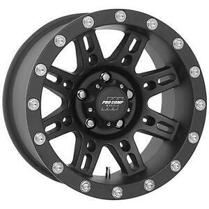 Pro Comp 31 Series Stryker 16x8 Wheel With 5 On 4 5 Bolt Pattern Matte Black