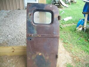 1938 1939 Ford Panel Delivery Rear Door Shop Truck Deco Jalopy Rat Rod 38 39