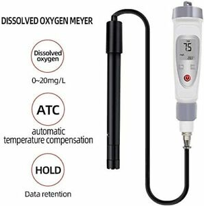 Water Quality Monitor Dissolved Oxygen Meter Pen Type Do Meter Tester 20 0 Mg l