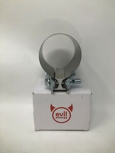 Evil Energy 3 Inch Butt Joint Exhaust Band Clamp Sleeve Stainless Steel