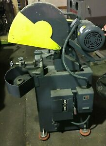Everett Inc 16mit Abrasive Metal Chop Saw 16 With Exhaust Blower