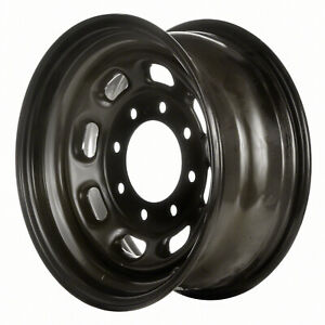 03340 Factory Oem Reconditioned Steel Wheel 16 X 7 Black Full Painted