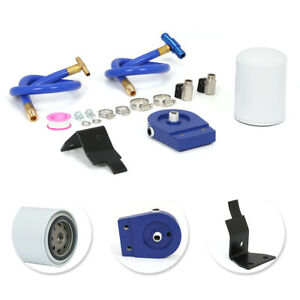 Coolant Filtration Filter Kit 2003 2007 Ford Powerstroke 6 0l W 4 Hose Clamps