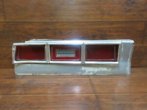 Chevrolet Impala Caprice 2dr Or 4dr 1979 Left Tail Light Assembly