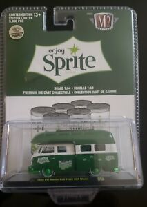 M2 Machines 1 750 Chase Sprite 1959 Vw Volkswagen Double Cab Truck Usa Model