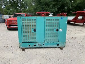 Cummins 35kw Natural Gas Generator 165 Hours