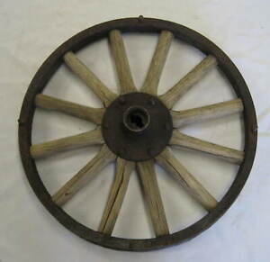 Antique 21 Wood Wheel For Ford Model T Marked Motor Wheel Corp 5 8 Tenon