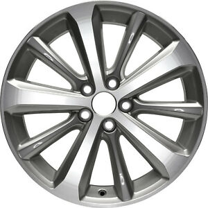 69548 Refinished Toyota Highlander 2008 2013 19 Inch Wheel Rim