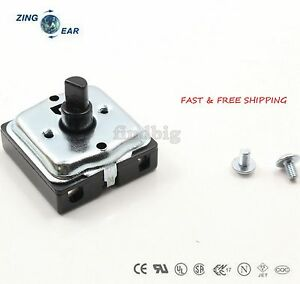 Turn Switch 3 Speed 4 Position Heater Blower Fan Oven Up To 10a 120 250v