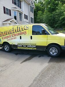 Chevrolet Express 3500 Carpet Cleaning Van W White Magic Truck Mount 2004