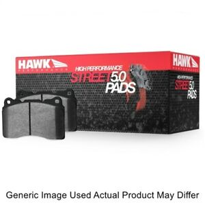 Hawk Hb826b 708 Hps 5 0 Brake Pad 0 708 Thick For 16 17 Ford Explorer 2 3l New