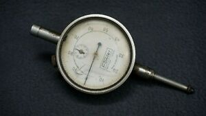 Vintage Fowler Precision Tools 001 Dial Indicator Made In England