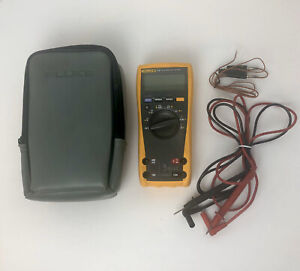 Fluke 179 True Rms Multimeter Soft Case Test Leads Thermocouple