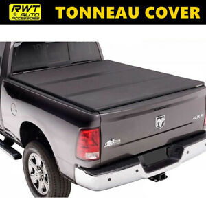 For 10 18 Dodge Ram 2500 3500 6 5ft Bed Lock Tri Fold Hard Solid Tonneau Cover