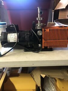 Alcatel Vacuum Pump With Franklin Electric 3 4 Hp Motor