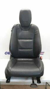 11 2011 Chevy Camaro Passenger Right Front Bucket Seat Black Leather Manual Heat