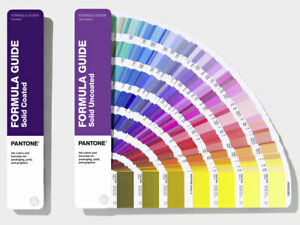 Pantone Formula Guide Solid Coated Uncoated 294 New Colours Latest Version