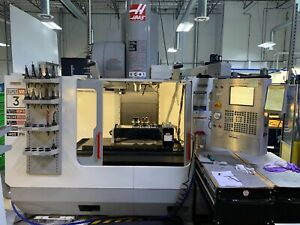 2004 Haas Vf 3ss 12k Rpm Medical R d Machine With T5c3 5th Axis Ref cnc0821