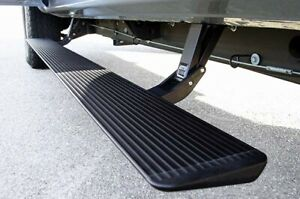 Amp Research 75113 01a Power Step With Light Kit Black