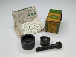 Greenlee 730 1 Round Radio Chassis Punch W Box Vintage Ground Hole Tool