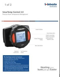 Webasto Air Top 2000 Stc st 12v Smart Temp Control With Wire Harness 7 Day Timer