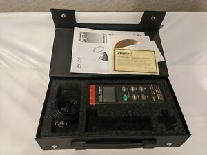Omega Hh306a Data Logger Thermometer 2 Channels Type K W Carry Case