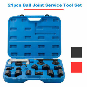 21pcs Ball Joint Auto Repair Tool Service Removal Installer Master Adapter Kit